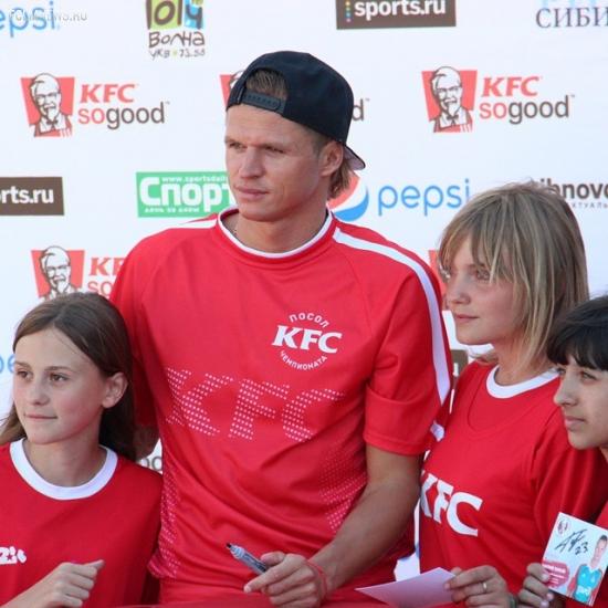 Обращение посла Чемпионата KFC 2015 Дмитрия Тарасова