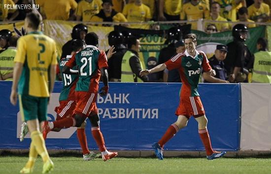 Приз «Надежда» по итогам года, получил полузащитник «Локомотива» Алексей Миранчук