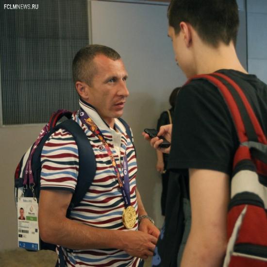 Встреча чемпионов Европейских игр