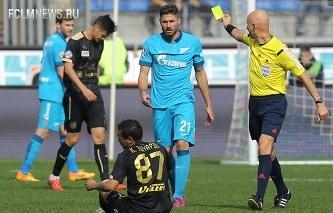 Судьи начнут использовать исчезающий спрей на матчах РФПЛ с сезона-2015/16