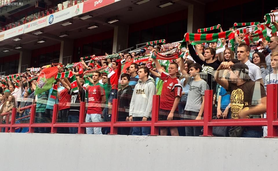 Команда передает слова благодарности всем болельщикам, посетившим сегодня Черкизово!