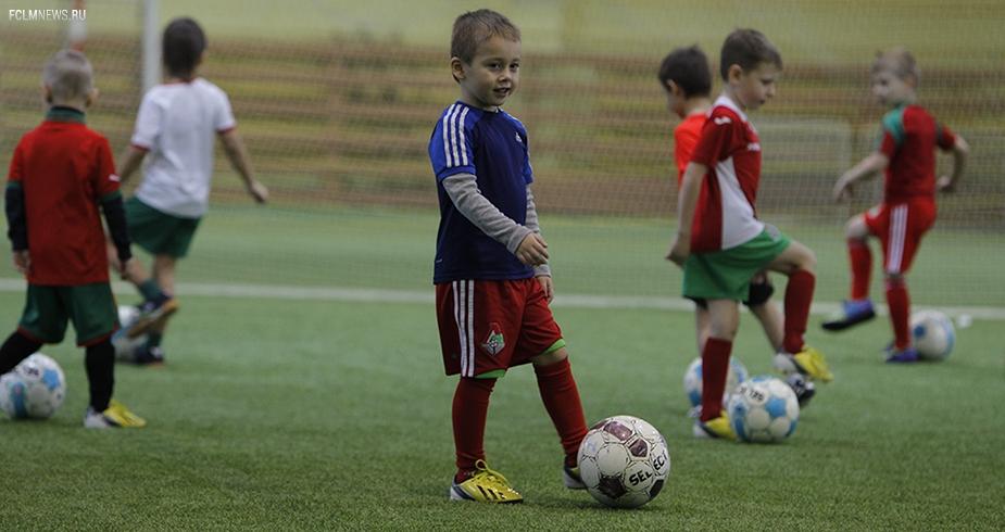 Набор детей в школу «Локомотива