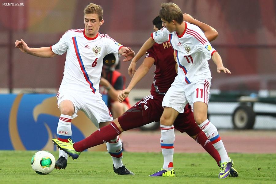 Пять зарубежных клубов заинтересованы в игроках юношеской сборной России