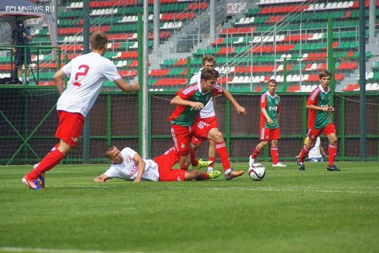 «Локомотив» (мол) - «Спартак» (мол) - 0:2