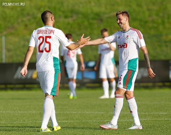 «Локомотив» - «Лудогорец» - 2:0