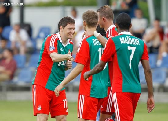 «Локомотив» - «Карабах» - 2:2