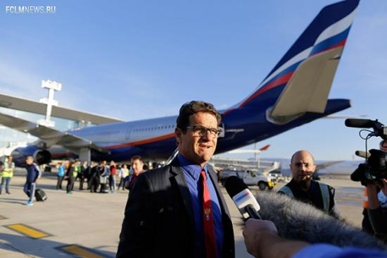 Фабио Капелло в среду прилетит в Москву для расторжения контракта с РФС