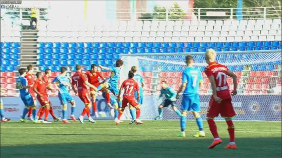 «Ростов» одержал победу над «Уфой» благодаря голу Баштуша в концовке