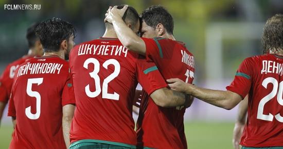 «Локомотив» одержал волевую победу над «Анжи»