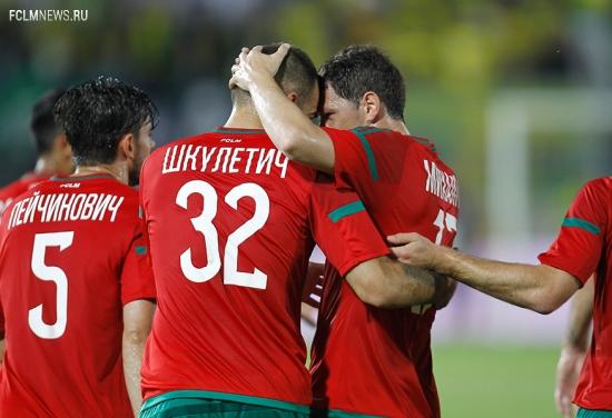 «Анжи» - «Локомотив» - 1:3