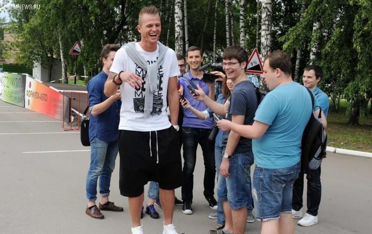 Дмитрий Тарасов: Слуцкого знаю давно, он позитивный человек
