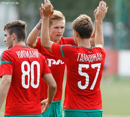 «Локомотив» (мол) - «Динамо» (мол) - 1:1
