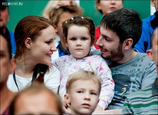 Обновленный Семейный сектор на матче с «Динамо»