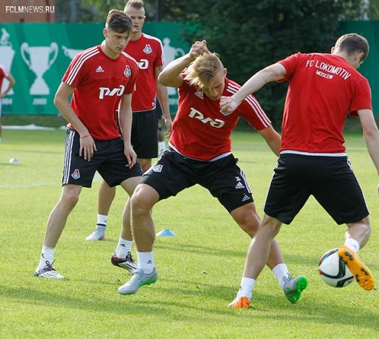 Открытая тренировка перед «Уралом»