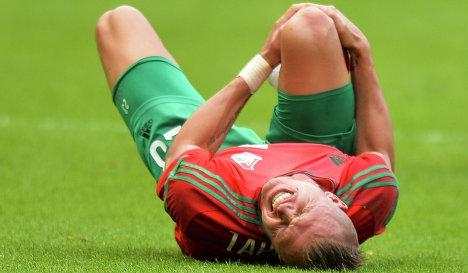 Тарасов получил повреждение и не сможет принять участие в ближайших матчах