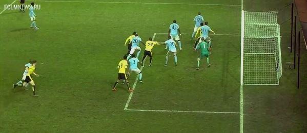Манчестер Сити обыграл Уотфорд