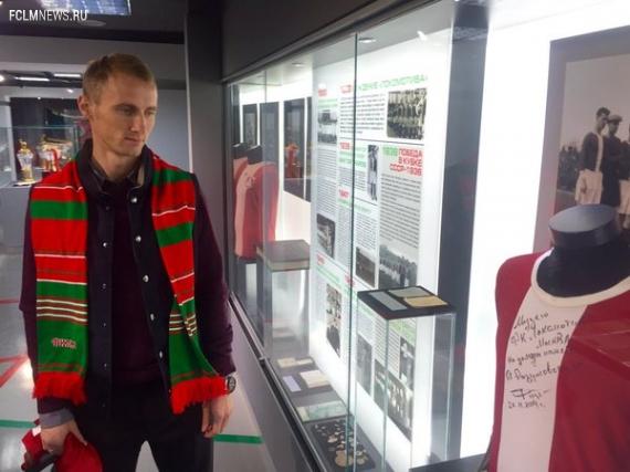«Локомотив» объявил о переходе Игнатьева