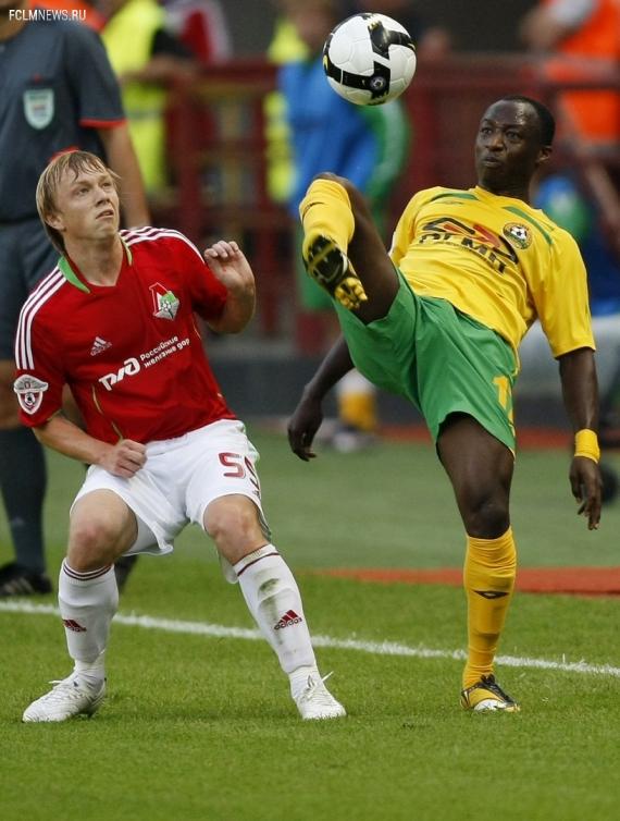 «Смородская видела, что я должен играть, а тренер – нет». Африканец, который не прижился в «Локомотиве»