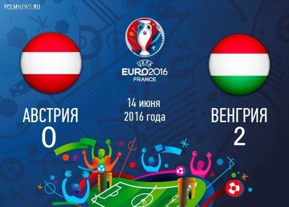Евро-2016. Венгрия победила Австрию