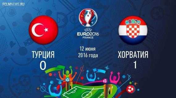 Евро-2016. Хорватия одолела Турцию