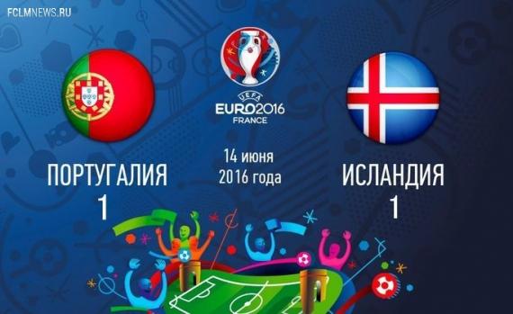 Евро-2016. Португалия не удержала победу над Исландией
