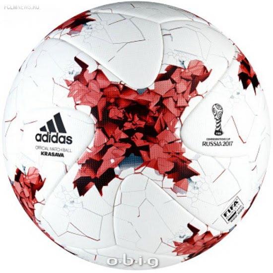 Мяч Кубка Конфедерации будет называться «Adidas Krasava 2017»