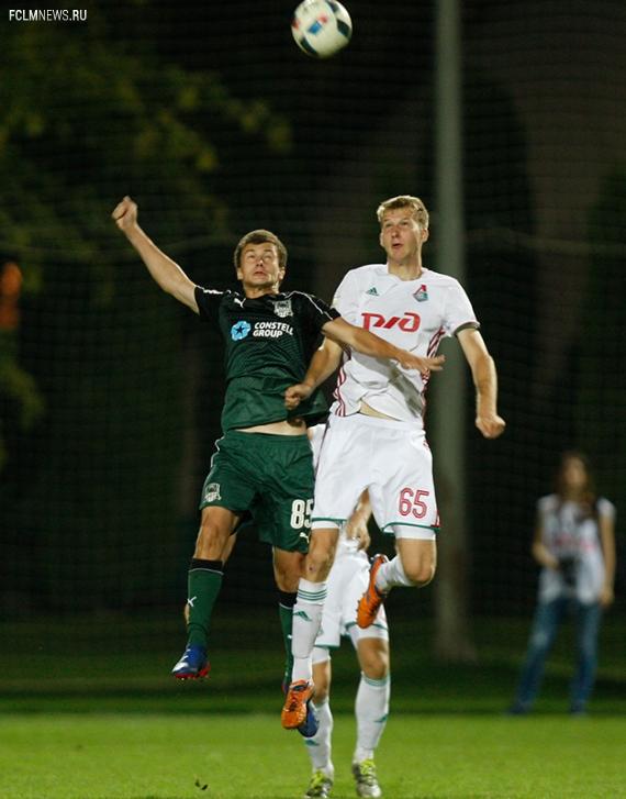 «Краснодар» (мол) - «Локомотив» (мол) - 1:3