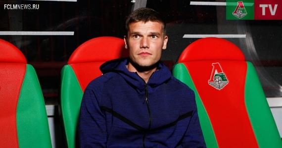 Денисов: Будет только работа и футбол