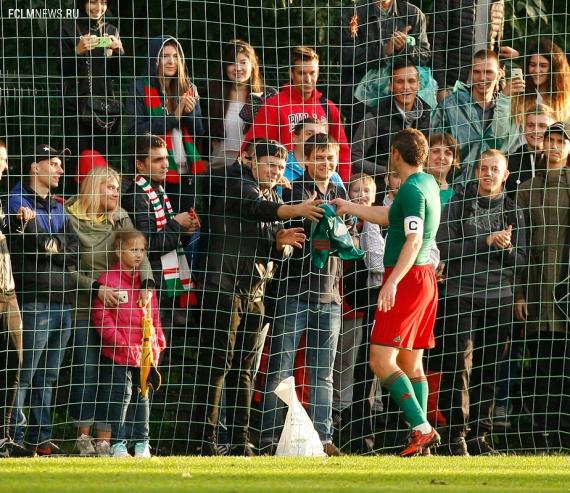 «Локомотив» - «Арсенал» - 0:1