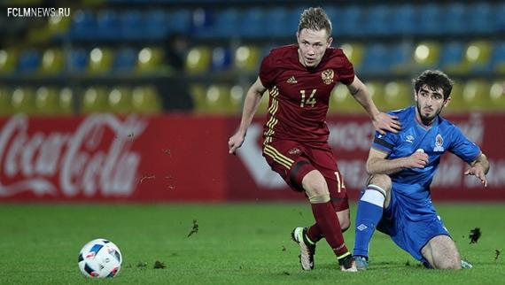 Молодёжная сборная России в родных стенах сыграла вничью с Австрией