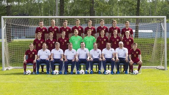 Юношеская сборная России разгромила Латвию