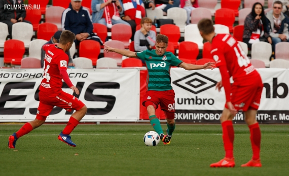 «Спартак» (мол) - «Локомотив» (мол) - 2:0