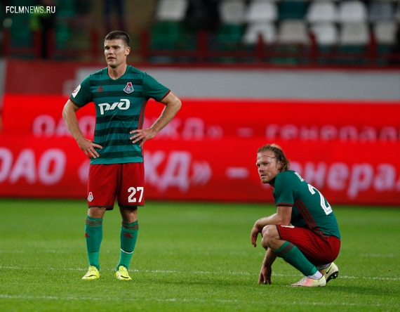 «Локомотив» - «Уфа» - 0:1