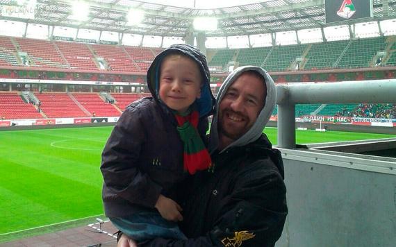 Ирландец, который болеет за «Локомотив»