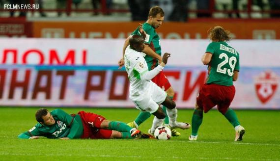 Игроки «Локомотива» выполнили наибольшее количество технико-тактических действий в 7-м туре