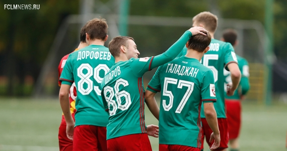 Молодежная команда «Локомотива» победила «Арсенал»