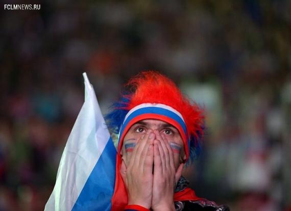 Сборная России впервые покинет топ-50 в рейтинге ФИФА.