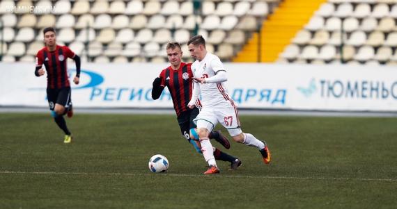 Молодежная команда «Локомотива» сыграла вничью с «Амкаром»