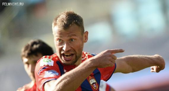 ЦСКА прервал беспроигрышную серию «Уфы» и вышел на первое место в РФПЛ
