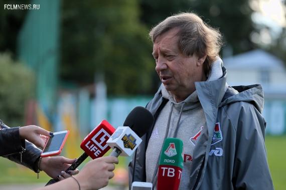 """Юрий Семин: """"Самедов и Миранчук в """"Спартаке""""? Слухи я не комментирую """""""