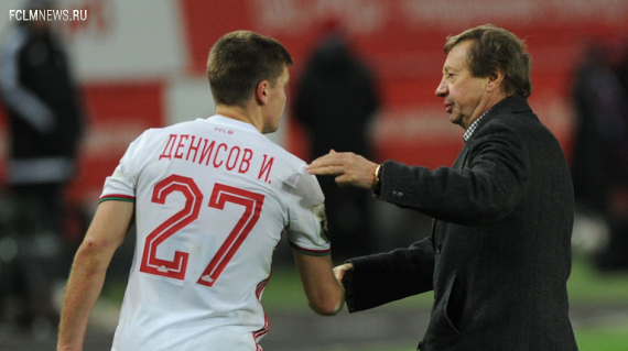 Юрий Семин включил в топ-5 лучших игроков года Игоря Денисова