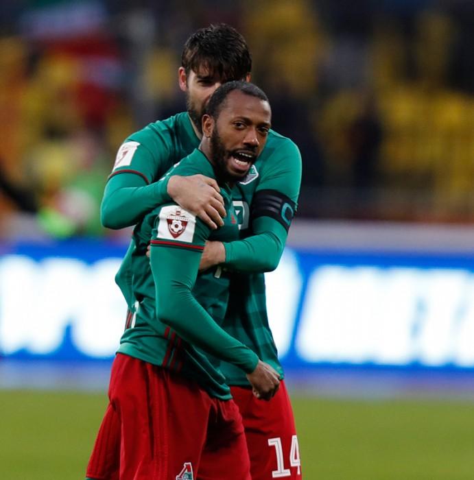 Лучшие кадры матча «Арсенал» - «Локомотив»