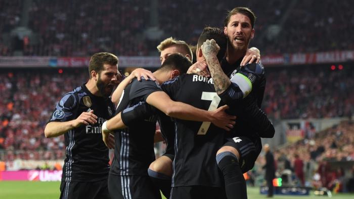 Бавария.  Реал Мадрид