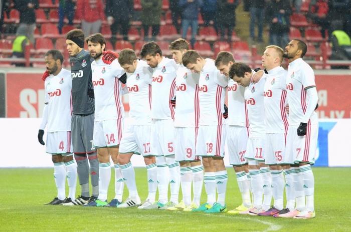 Матч «Локомотив» — «Уфа» начнётся с минуты молчания в память о погибших в Питере