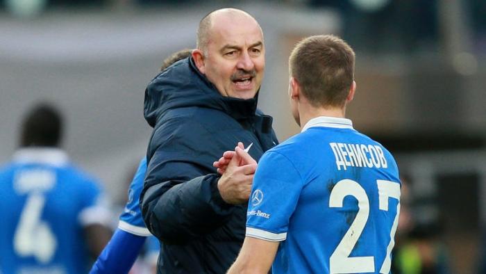 Станислав Черчесов: «Денисов в сборной проходит под 24-м номером. На его позиции хорошо играет Зобнин»