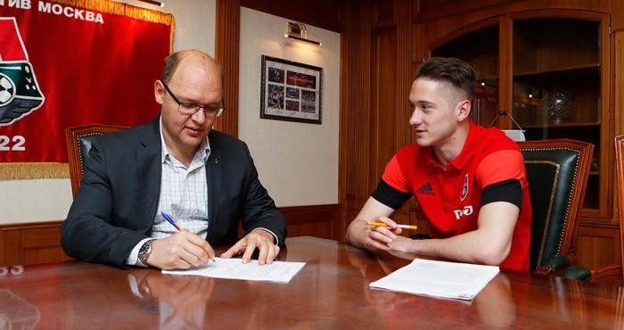 Антон Миранчук подписал новое соглашение с «Локо»