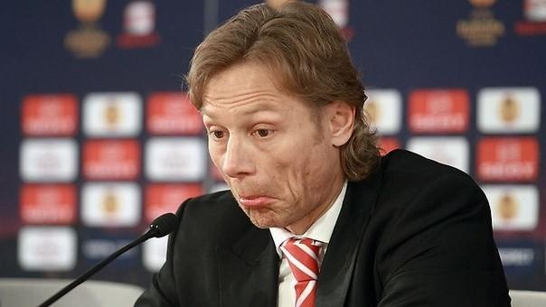 Валерий Карпин.  Курбан Бердыев