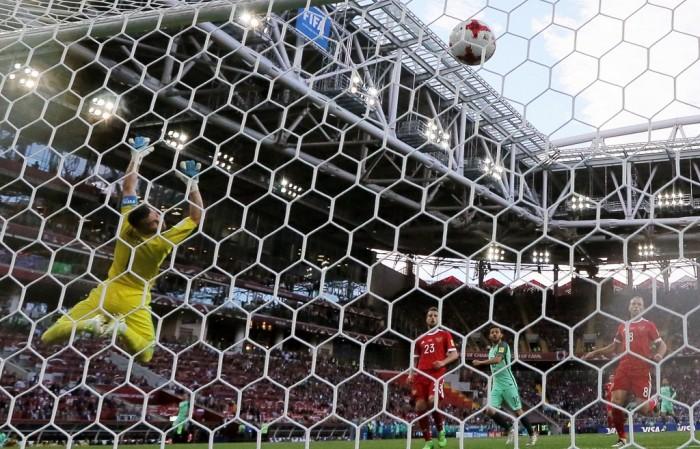 Акинфеев считает, что он допустил ошибку в пропущенном голе в матче с португальцами