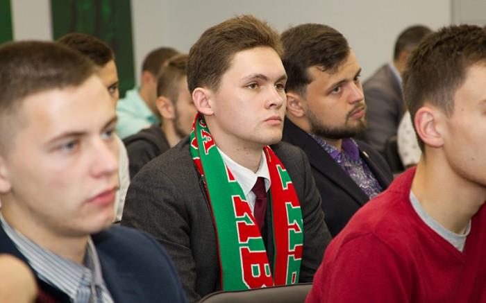 В Черкизове прошла встреча руководства ФК «Локомотив» с послами вузов