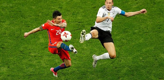 Германия и Чили сыграли вничью на Кубке конфедераций